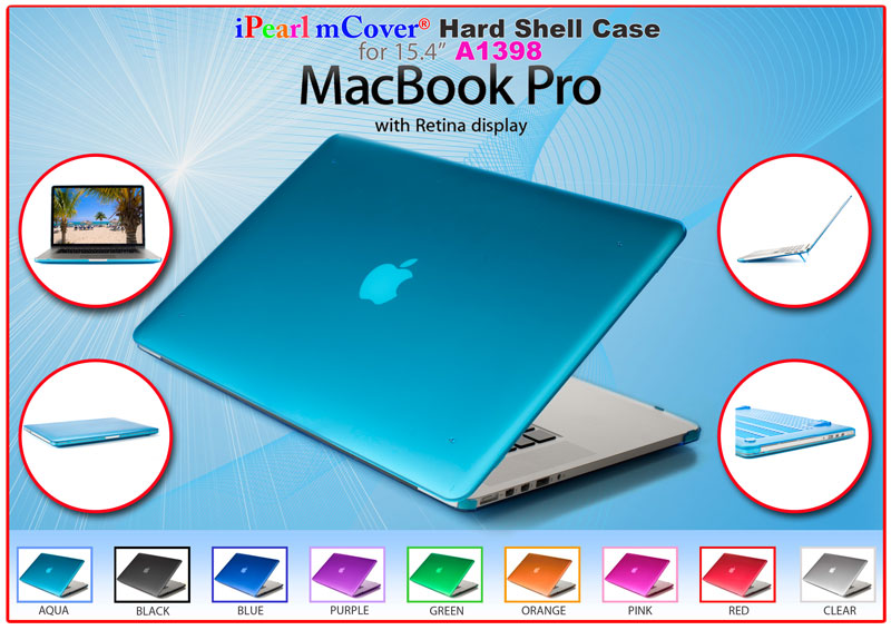 mCover® case for MacBook  			Pro 15-inch with Retina Display