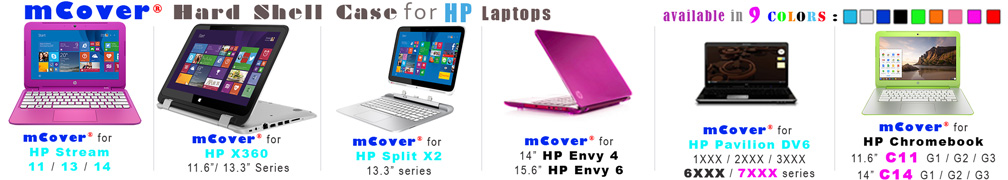 iPearl mCover for                         HP laptops