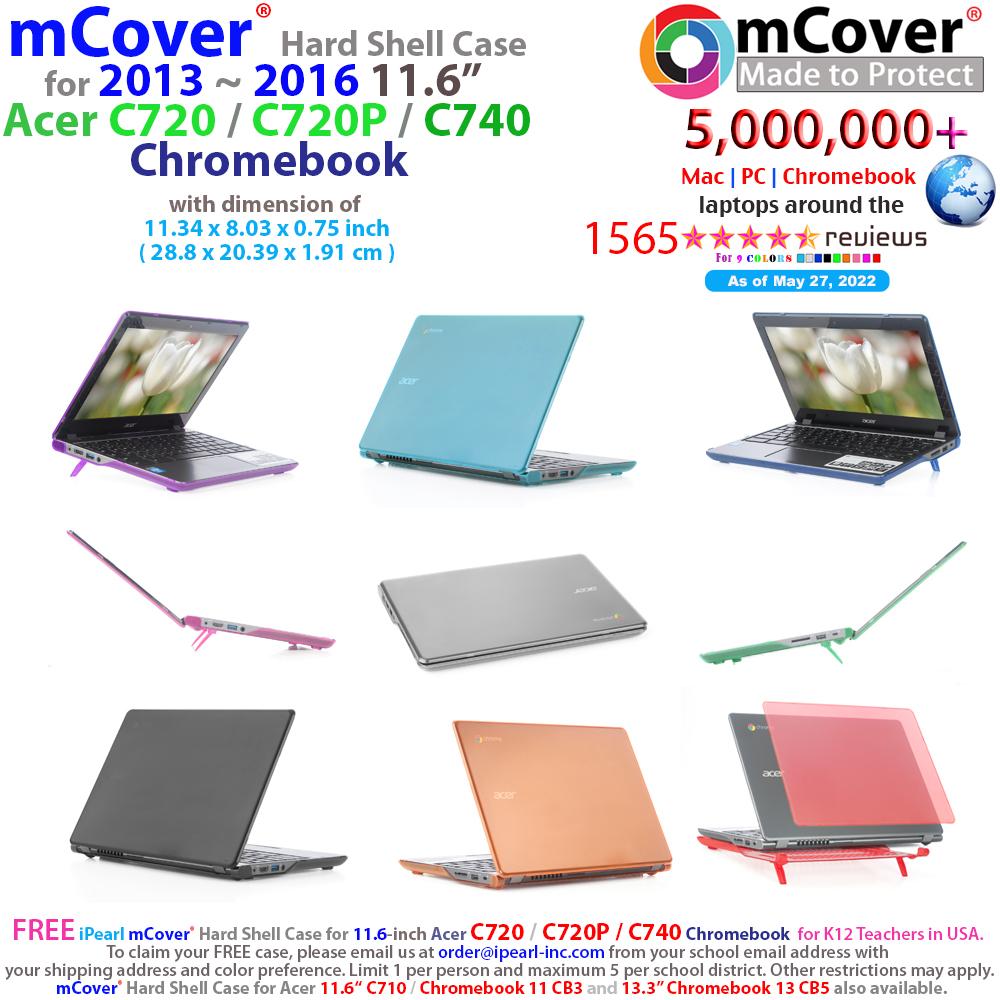 "mCover                               Hard Shell case for Samsung Chromebook                               11.6"""