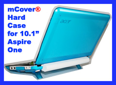 Aqua hard case for Acer Aspire One  			10.1-inch Netbook