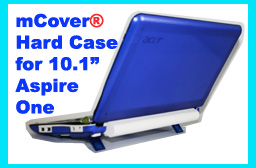 BLUE hard case for Acer Aspire One  			10.1-inch Netbook