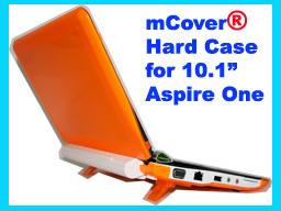ORANGE hard case for Acer Aspire One  10.1-inch Netbook
