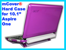 PURPLE hard case for Acer Aspire One  			10.1-inch Netbook