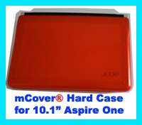 RED hard case for Acer Aspire One  			10.1-inch Netbook