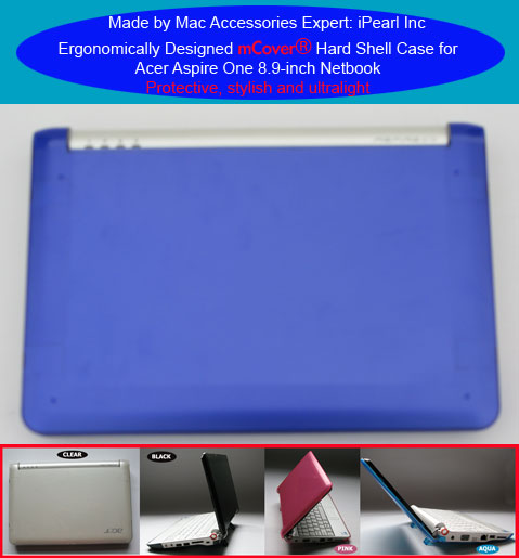 BLUE hard case for Acer Aspire One                         8.9-inc Netbook