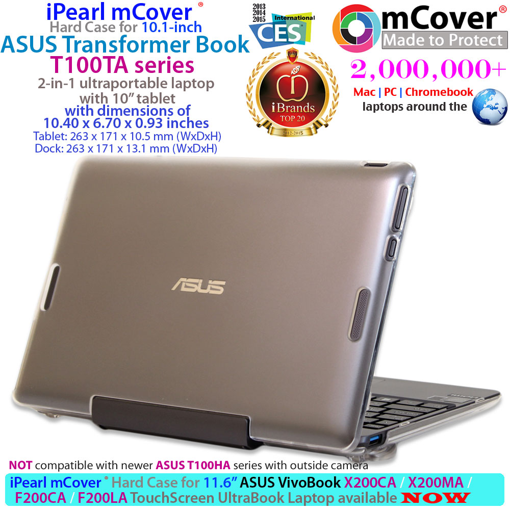 mCover Hard Shell case for ASUS  				Transformer Book T100 series Ultrabook