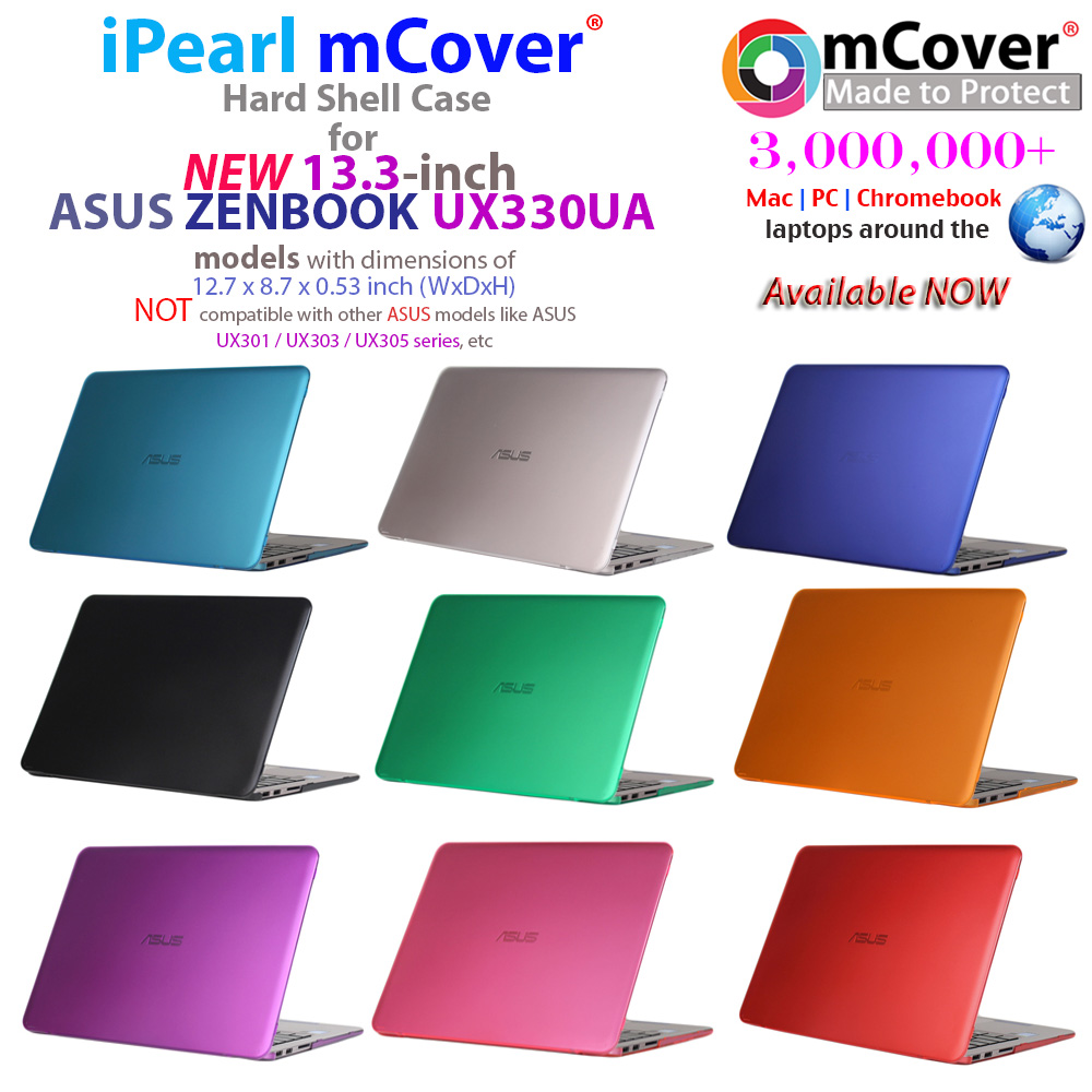iPearl mCover® Hard shell case for ASUS Zenbook UX330UA