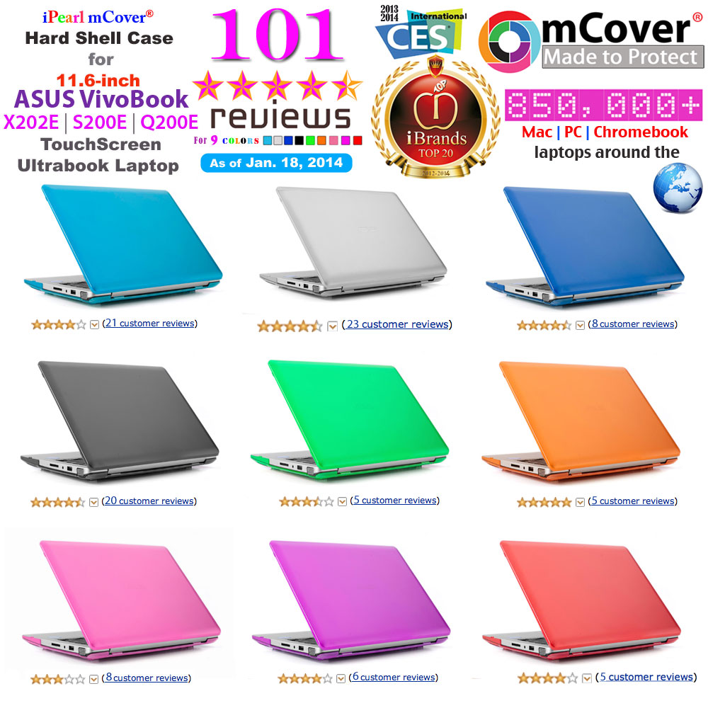 Amazon reviews for mCover ASUS X202