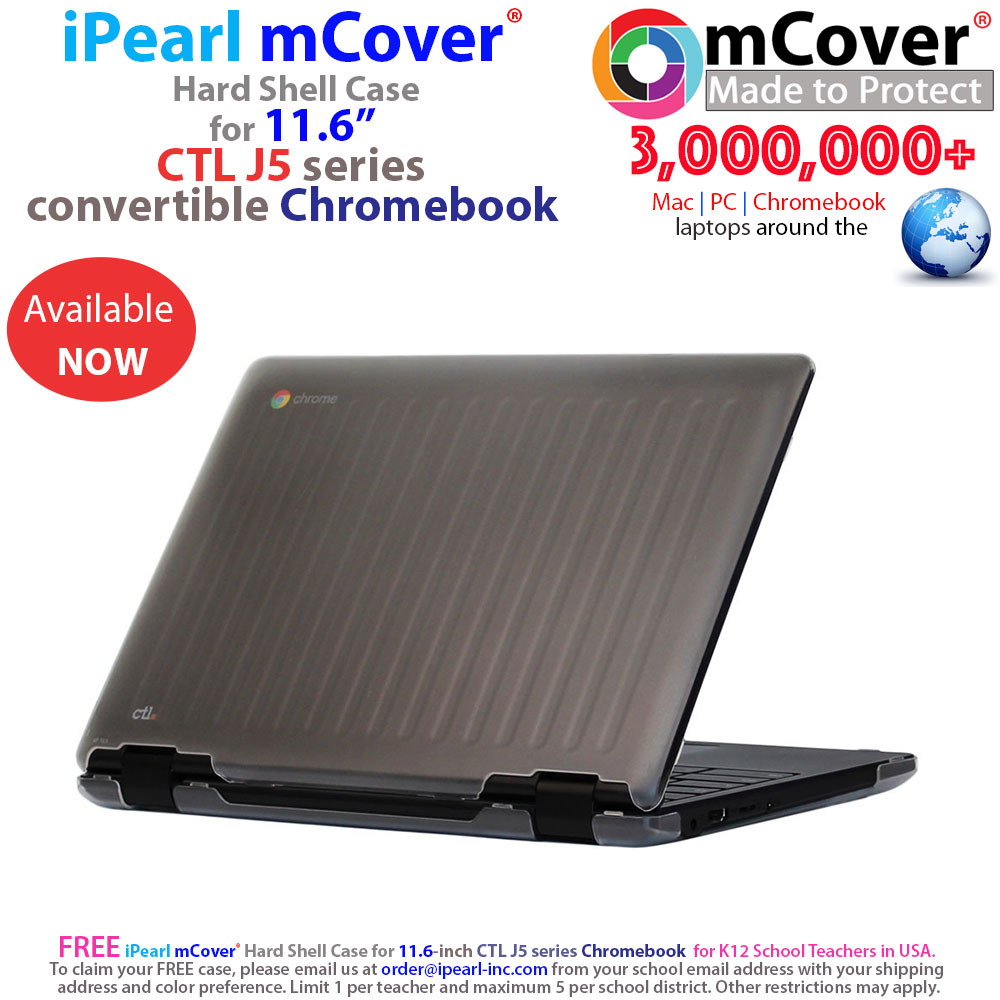 mCover Hard Shell case for 	Ctl J5 series Chromebook laptop