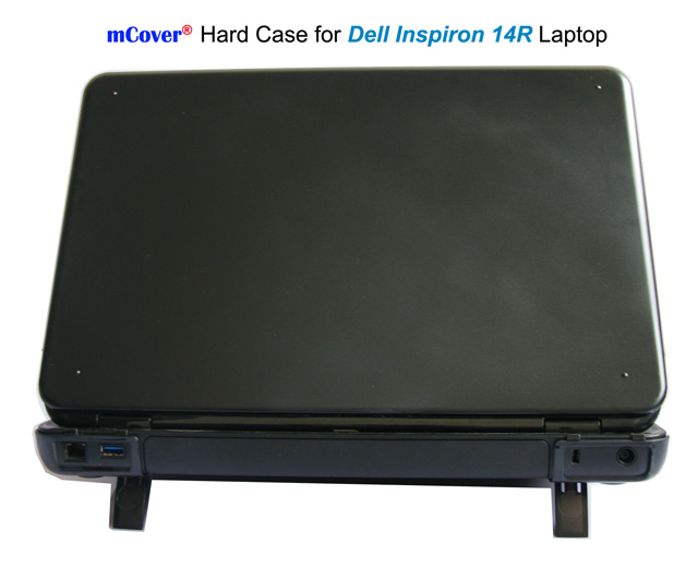 Black hard case for Dell  				Inspiron 14R laptop