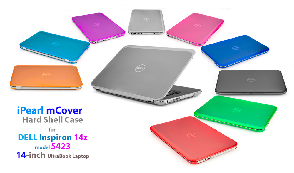 Ipearl Inc Light Weight Stylish Mcover Hard Shell Case For Dell Inspiron 14z 5423 Series Ultrabook Laptops