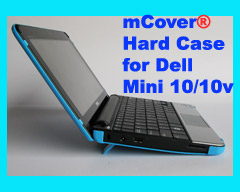 Aqua hard case for Dell Mini 10  			10.1-inch Netbook