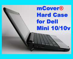 Black hard case for Dell Mini 10  10.1-inch Netbook