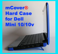 BLUE hard case for Dell Mini 10  			10.1-inch Netbook