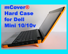 ORANGE hard case for Dell Mini 10  			10.1-inch Netbook