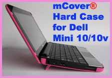 PINK hard shell case for Dell Mini 10  			10.1-inch Netbook