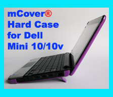 PURPLE hard case for Dell Mini 10  			10.1-inch Netbook