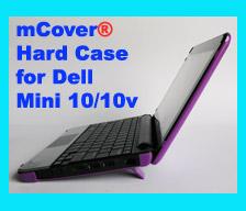 PURPLE hard case for Dell Mini 10  10.1-inch Netbook
