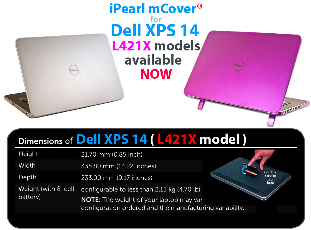 mCover for Dell XPS 14