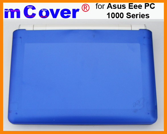 BLUE hard case for Asus Eee PC 10-inch  			Netbook