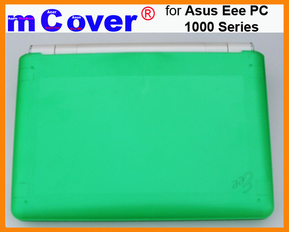 GREEN hard case for Asus Eee PC 10-inch  			Netbook