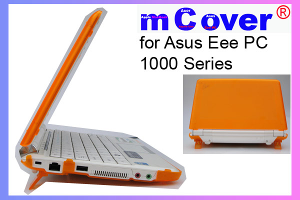 ORANGE hard case for Asus Eee PC 10-inch  			Netbook