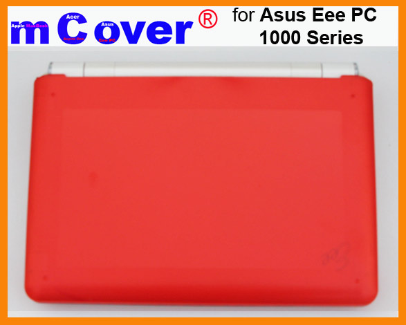 RED hard case for Asus Eee PC 10-inch  			Netbook