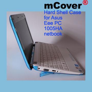 Aqua hard case for Asus Eee PC  10-inc 1005 Netbook