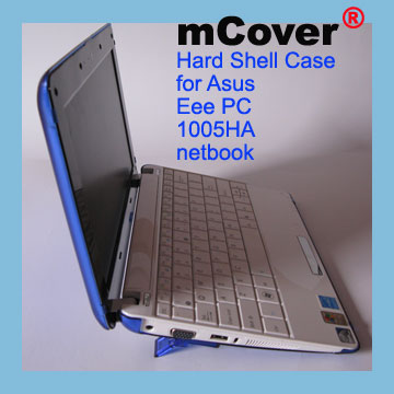 BLUE hard case for Asus Eee PC                                   10-inch 1005 Netbook
