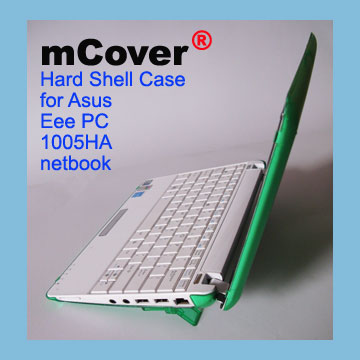 GREEN hard case for Asus Eee                                   PC 10-inch 1005 Netbook
