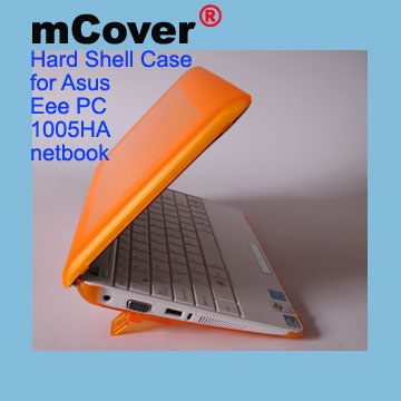 ORANGE hard case for Asus Eee                                   PC 10-inch 1005 Netbook