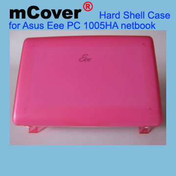PINK hard shell case for Asus                                   Eee PC 10-inc 1005 Netbook