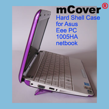 PURPLE hard case for Asus Eee                                     PC 10-inch 1005 Netbook