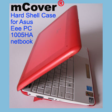 RED hard case for Asus Eee PC                                   10-inch 1005 Netbook