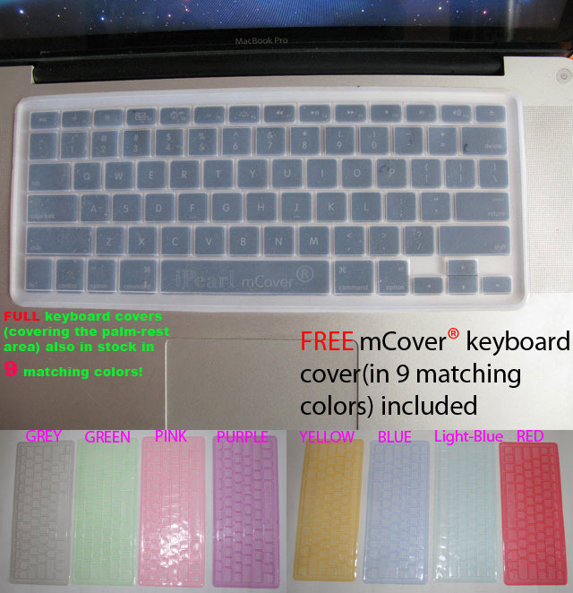 MCover® keyboard cover