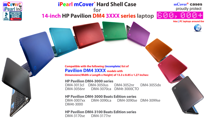 mCover for HP Pavilion DM4 3xxx series  Hard Shell Case