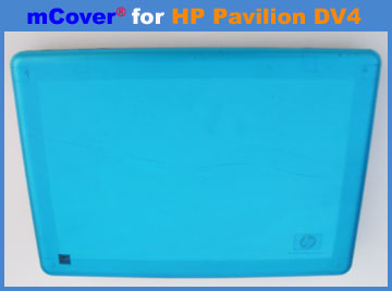 Aqua hard case for HP Pavilion  					DV4 laptop