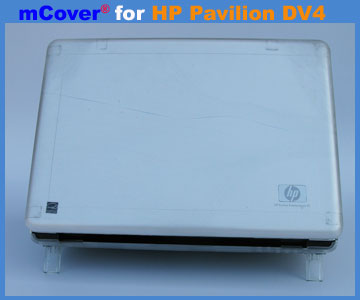 Clear hard case  					for HP Pavilion DV4 laptop