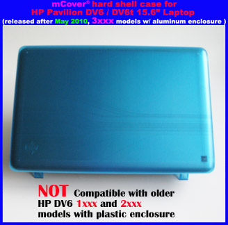 AQUA hard case  					for HP Pavilion DV6 15.6