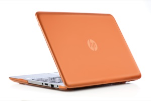 Orange hard mCover for HP ENVY  					M6-kxxx series sleekbook