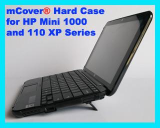 Black  hard case for HP Mini 1000 Netbook