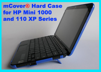 Blue hard case for HP  Mini 1000 Netbook