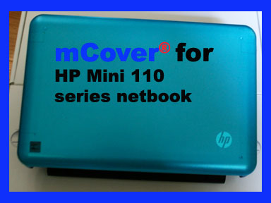 Aqua hard case for HP                           Mini 110XP Netbook
