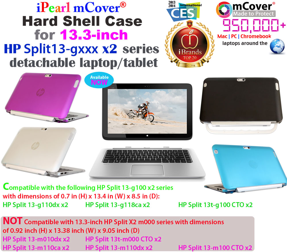 mCover for HP Split13-gxxx x2  				13-inch series Hard Shell Case