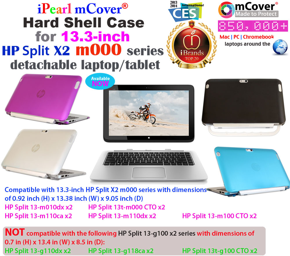 mCover for HP Split x2 13-inch  series Hard Shell Case