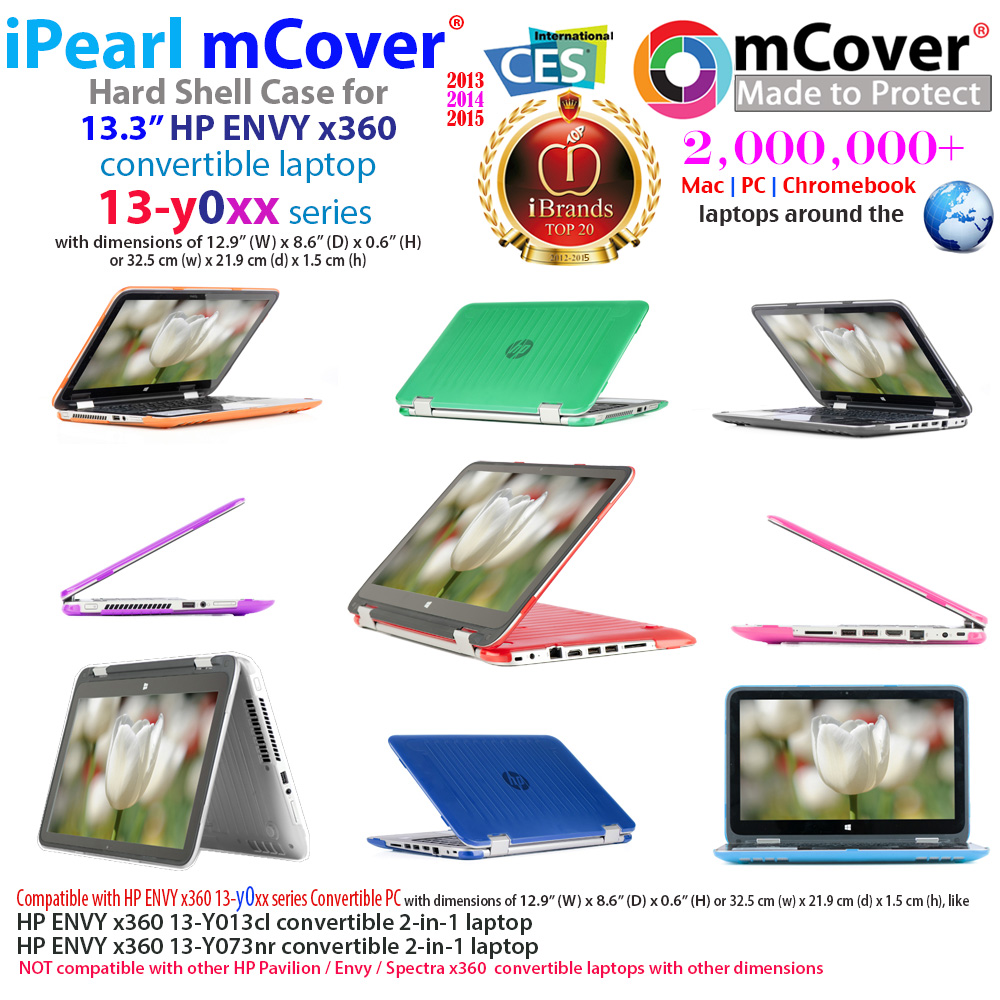 mCover Hard Shell case for HP Envy X360 13-Yxxx series