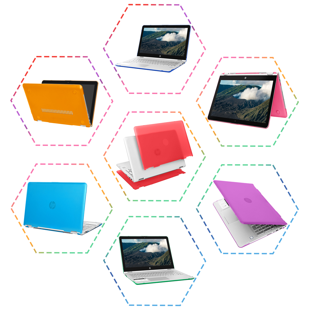 mCover Hard Shell case for HP ENVY X360 15