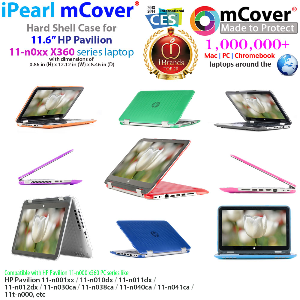 mCover Hard  				Shell case for HP Pavilion X360 11