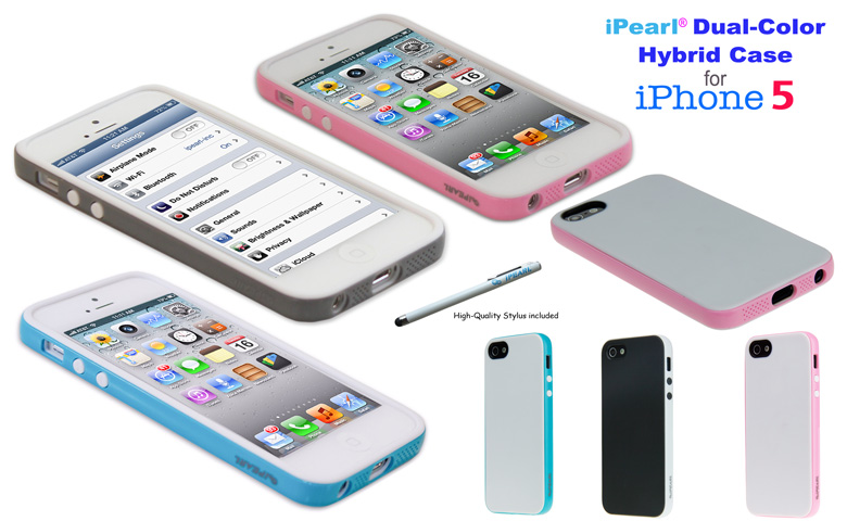 iPearl Hybrid DualColor                       Cases for iPhone5