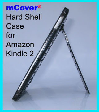 Black hard  					case for Amazon Kindle 2 6-inch  					reader
